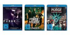 3 Blu-rays * The Purge 1-3 Säuberung Anarchy Election Year Im Set # NEU OVP+
