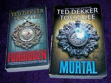 TED DEKKER Tosca Lee lot 2 pb Books of Mortals Forbidden Mortal free ship