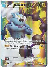 Pokemon 97/98 1x Holo Thundurus x1 LP/LP+ x 1 97/98