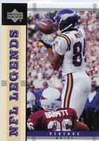 Randy Moss 2004 Upper Deck Legends #49 Minnesota Vikings