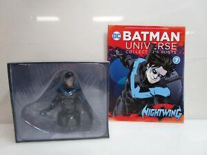 Nightwing DC Eaglemoss Batman Universe Collectors Bust #7 w/ Magazine