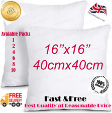 Hollow fibre cushion Pads 16x16 inch 40 x 40 cm Inner Inserts fillers Scatters