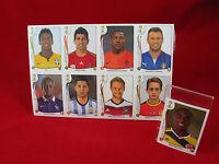 """Panini WM 2014 alle 72 Update Extra Sticker OVP + """"echter"""" Eder Balanta WC 14 71"""