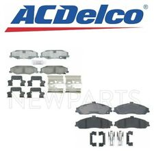 For Cadillac XLR Chevy Corvette Pair Set of Front & Rear Disc Brake Pads ACDelco