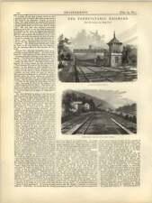 1877 Pennsylvania Railroad standard di segnale Tower, canale di alimentazione, Casa della caldaia