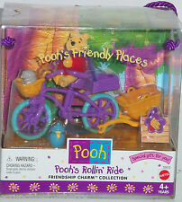 Disney Winnie Pooh's Rollin' Ride Bicycle Friendship Charm Collection 1999