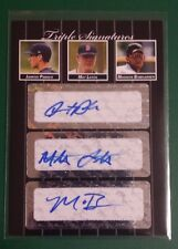 2007 JUST MINORS TRIPLE SIGS MADISON BUMGARNER RC AUTO!! ONLY 3 EXIST!!