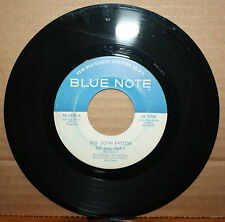 BIG JOHN PATTON **FAT JUDY** Parts 1 & 2 JAZZ 45 on  BLUE NOTE 1920 Van G Stamp