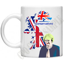 Theresa May Novelty Mug Conservative Party general Election PM MP Political