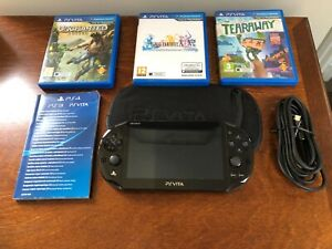 Playstation Vita Slim Console Bundle (PS Vita) with Games and Sony Memory Card