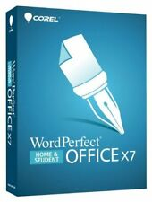 Corel Wordperfect Office X7 Home & Student - Product Key Card