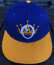Vintage 90s Omaha Royals New Era Pro Model 100% Wool Hat Cap USA Made Minor