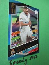 Topps Champions League 2016 17 limited Edition Pro11 Benzema Pro 11 Match Attax