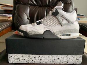Nike Air Jordan Retro IV White Cement Size 11 NDS 2016 RARE 4 With Box III VI