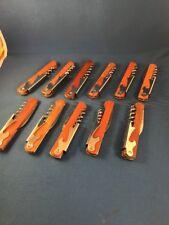 Wood Handle Corkscrews - 11 in a lot