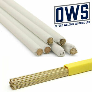 Silicone Bronze brazing rods. Non flux. Flux coated. Flux impregnated EN1044