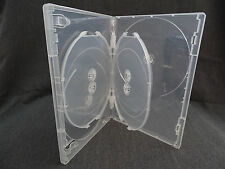 DVD COVER / CASES CLEAR - SINGLE 6 DISC - VIVA - 14MM - QUANTITY 2 ONLY
