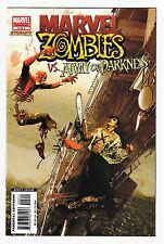Marvel Zombies VS Army of Darkness 3 NM+ Comic Book 2007 Arthur Suydam 1st Print