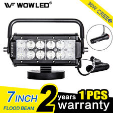 Portable Magnetic Base 36W LED Work Light Bar Offroad Floodlight Truck Boat 4X4