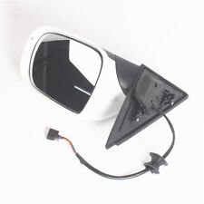 Right RIGHT Side Mirror Electric Foldable W/ Heated White Fit For AUDI Q5 09-15
