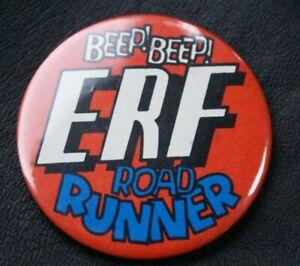 Motoring Truck Pin Badge ERF BEEP! BEEP! ERF ROAD RUNNER Large 55 mm