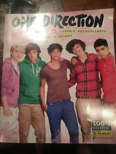 2012 Panini One Direction Individual Sticker Album Panini 1D