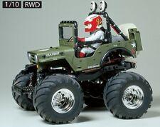 Tamiya 58242 1/10 RC Off Road Car WR-02 Chassis Wild Willy 2000 2 Wheelie w/ESC