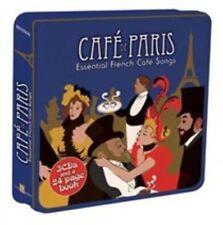 Cafe De Paris - Essential French Cafe Songs 3cd Various Artists Audio CD