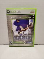 Sonic the Hedgehog Microsoft Xbox 360 2006 Complete in Box CIB
