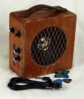 Electric Cigar Box Guitar Monster Amp - 10 Watt + Distortion Pedal + 2 Inputs