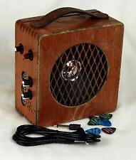 Electric Cigar Box Guitar Monster Amp - 10 Watt + Distortion Pedal + 2 Inputs