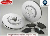 FOR VOLVO XC60 2.0DT 2010-> DELPHI FRONT BRAKE DISCS SET + DISC PADS KIT