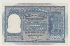 India P 42b Elephants 100 Rupees Nd Crispy Xf