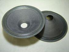 """Pr. 12"""" Paper Speaker Cones -- Recone Parts -- 3CF410"""
