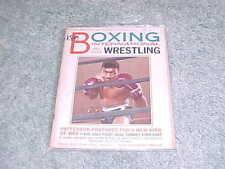 1965 Boxing International All Star Wrestling Magazine Floyd Patterson Cover