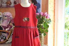 robe tartine et chocolat doublee 8 ans superbe 45% DE LAINE les initiales