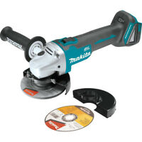 Makita 18V LXT Li-Ion Cordless 4 - 1/2 in Cut - Off/Angle Grinder XAG04Z New