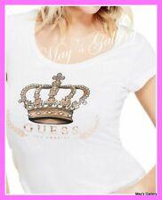 GUESS Jeans Glitter Logo Tank T-shirt Tee T shirt Top Blouse Graphic XS,S,M,L,XL
