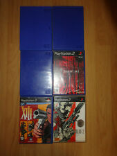 LOT 6 BOITIERS VIDE SONY PLAYSTATION 2 + Jaquettes