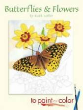 NEW Butterflies and Flowers to Paint or Color (Dover Art Coloring Book)
