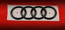 Audi Ringe Emblem Logo Schwarz Hochglanz Klavierlack  Front Audi R8 GT Spider