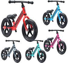 Kinder Laufrad Lauflernrad Fahrrad Roller 12 Zoll ab 3-4 Jahren Höhenverstellbar