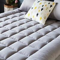 Mattress Pad Cover (Queen Size)- Cooling Mattress Topper with Thick Cotton