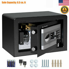 Digital Electronic Safe Box Keypad Lock Code Cash Jewelry Gun Home Office Hotel