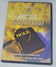 Your 35 Startling Questions Answered DVD Dr. Jack & Rexella Van Impe ~ Christian