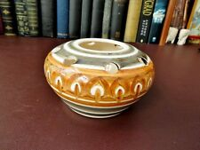 Tantallon Ceramics North Berwick Scottish Art Studio Pottery Potpourri Vase