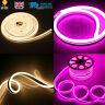 8x16 Flexible Neon LED Strip Double Side Light 120 LED/M 2835 SMD  220V WW/Pink