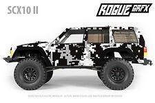 Axial SCX10 II Cherokee Body Graphic Wrap Skin- Urban Camo