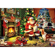 5D Full Drill Diamond Painting Santa Claus Christmas Cross Stitch Embroidery Kit