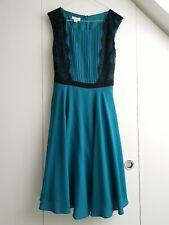 Beautiful Monsoon Teal Dress Size UK 6 EUR 34